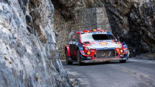 Thierry Neuville Rally Montecarlo 2020
