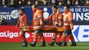 El Chimy Ávila se pierde lo que resta de temporada por una grave...