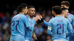Manchester City venció con claridad al Fulham en la FA Cup.