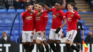 Manchester United goleó al Tranmere en la Fa Cup.