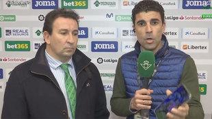 López Catalán, en Betis TV