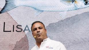 Ángel León propone gusanas de mar para el hedonista del siglo XXI.