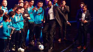 El fútbol no le era desconocido a 'Black Mamba'.