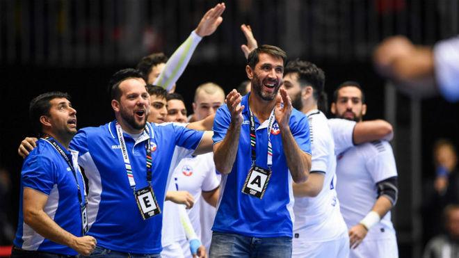 Mateo Garralda, en un partido de Chile del pasado Mundial /
