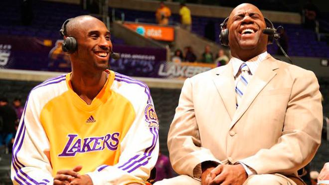 Así recordó Magic a Bryant.