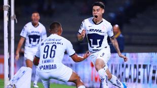 Felipe Mora no sumó minutos durante el Clausura 2020.