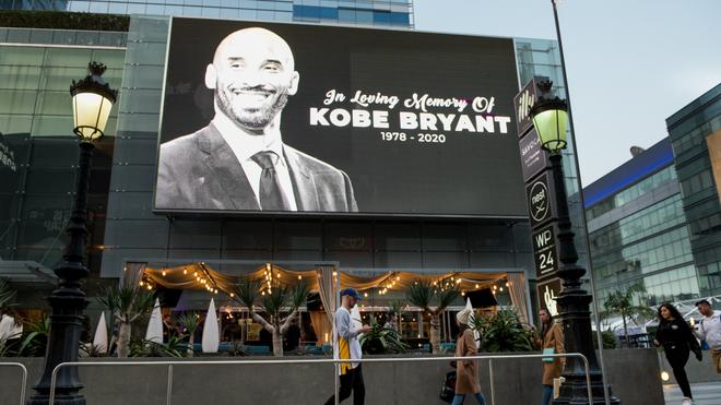Kobe Bryant, un ícono en Los Ángeles.