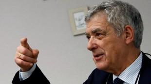 Ángel María Villar, expresidente de la Federación Española de...
