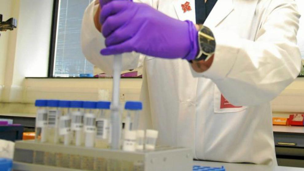 Detalle de un laboratorio antidopaje