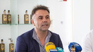 Manuel Franganillo, presidente del Extremadura