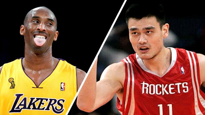 Épico duelo entre Kobe y Yao.