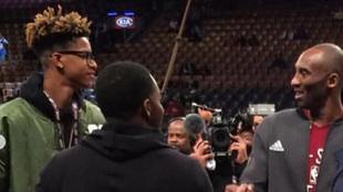 Shareef y Kobe Bryant