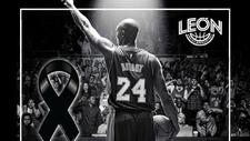 Abejas de León conmemoran a Kobe Bryant.