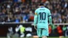 Messi, en Mestalla.