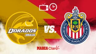 Dorados vs Chivas: Horario y dónde ver en vivo