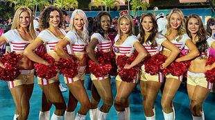 Las 49ers Gold Rush son las cheerleaders de los San Francisco 49ers...