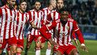 Sekou Gassama celebra su gol en el Fuenlabrada-Almería de esta...