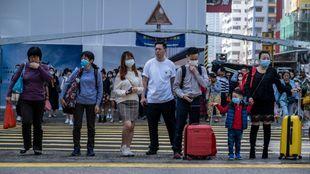La epidemia de coronavirus en China obliga a cancelar las pruebas de...
