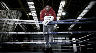 Emmanuel Reyes en las instalaciones del Centro de Alto Rendimiento de...