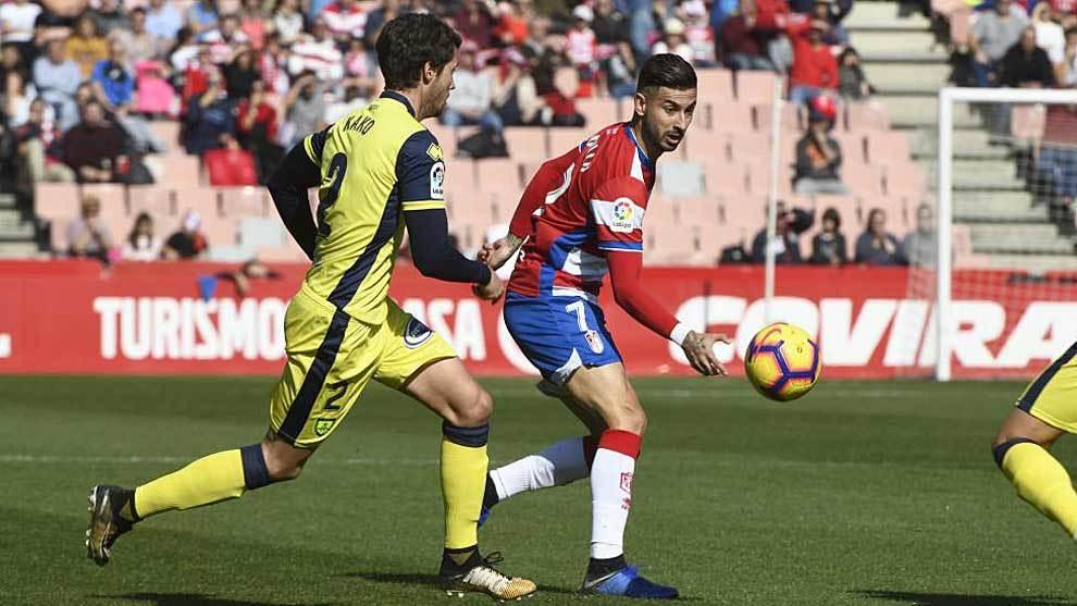 Kako junto a Vadillo en un partido de la temporada pasada