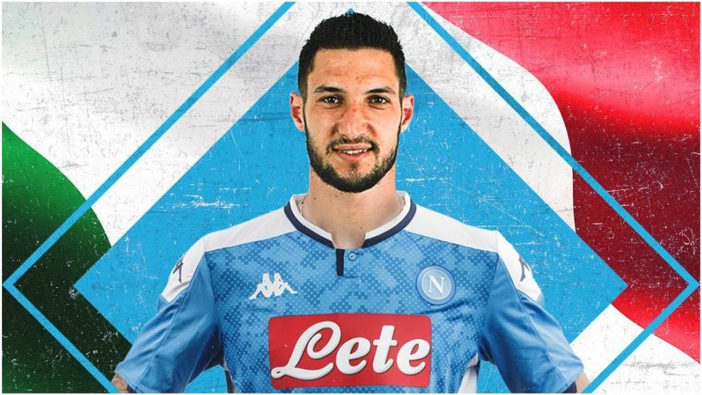 Matteo Politano, nuevo jugador partenopeo.