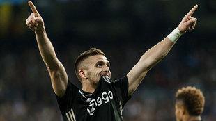 Dusan Tadic, en el Real Madrid-Ajax de octavos de final de la...