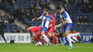 Porto gana en la Liga de Portugal.