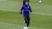 Joao Félix durante un entrenamiento.