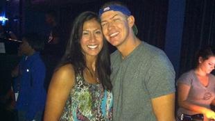 Matt Mauser y su esposa Christina, víctima del accidente de Kobe...