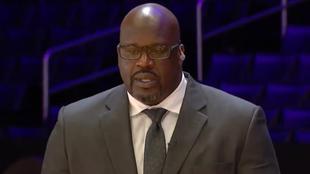 Shaq lloró tras hablar de su amigo, Kobe Bryant.