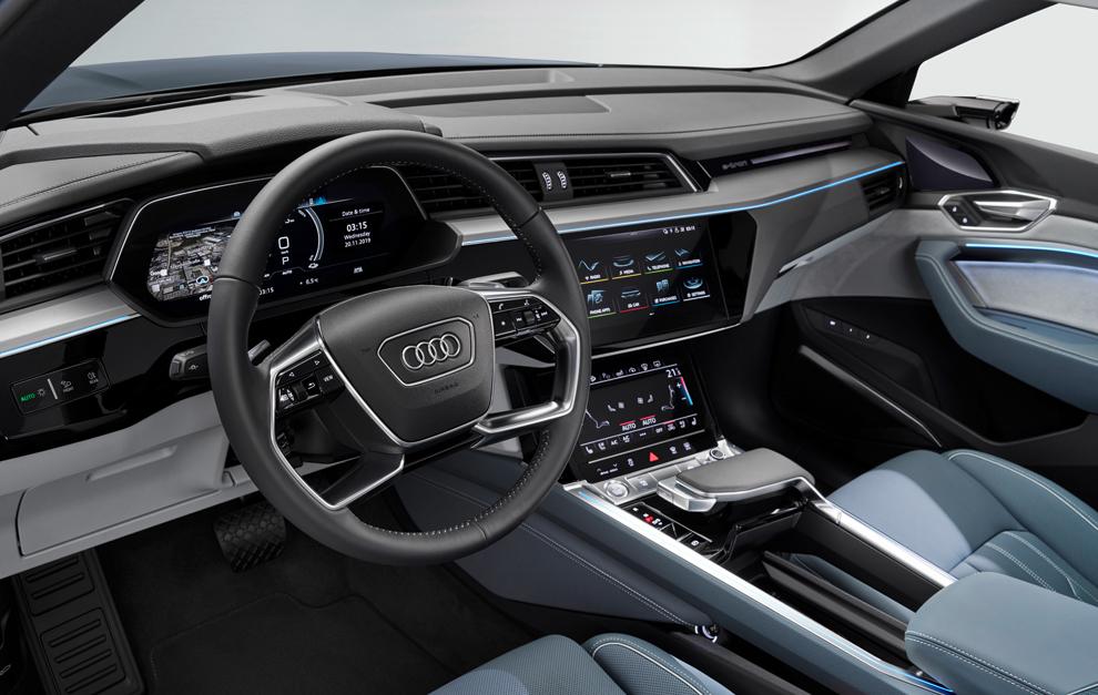 El Audi E Tron Sportback Electrico Ya Tiene Precios Para Espana Marca Com