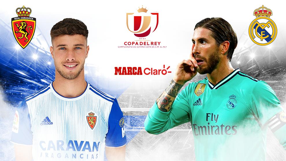 Copa Del Rey Zaragoza Vs Real Madrid Resumen Resultado Y Goles