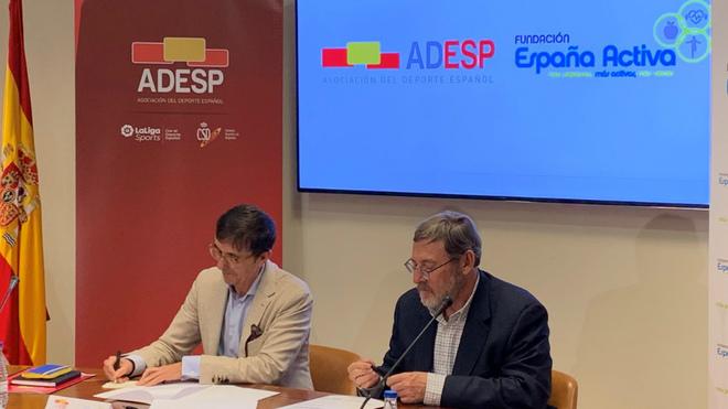 José Hidalgo y Jaime Lissavetzky firman el Memorándum de...