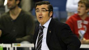 Paco García, durante un encuentro.