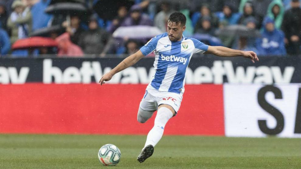Arnaiz, con el Leganés esta temporada.