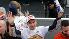 Jorge Lorenzo, en Cheste, en su último gran premio.