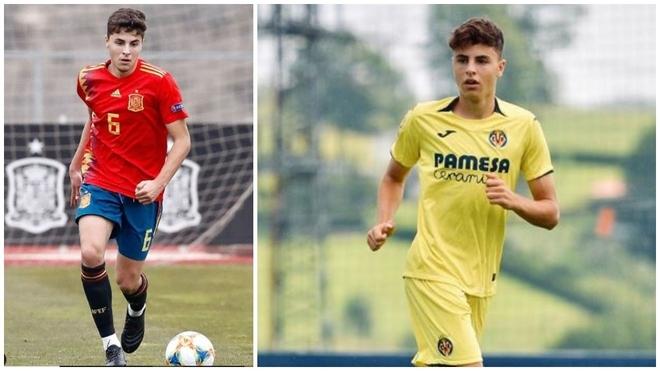 Iván Morante, internacional con la selección sub 19 y fichado del...
