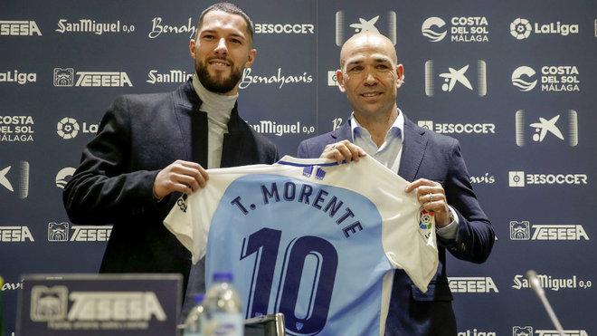 Tete Morente posa junto a Manolo Gaspar.