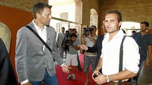 Djukic y Baraja, en un Foro de MARCA para hablar del campeón Valencia