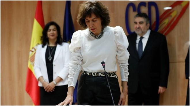 Irene Lozano toma posesión como Secretaria de Estado para el Deporte