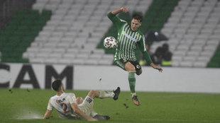 Francis, durante el partido de Copa ante el Antoniano.