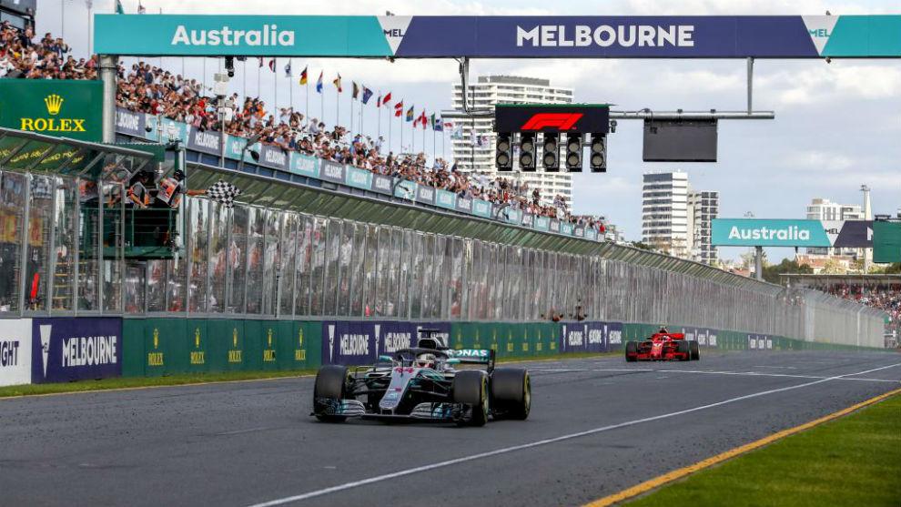 Australia abre la temporada el 15 de marzo, con la primera carrera a...