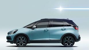 La versión Crosstar del Honda Jazz que llegará el próximo verano.
