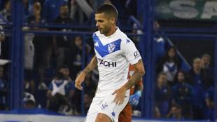 Fernando gago salió del partido ante Aldosivi