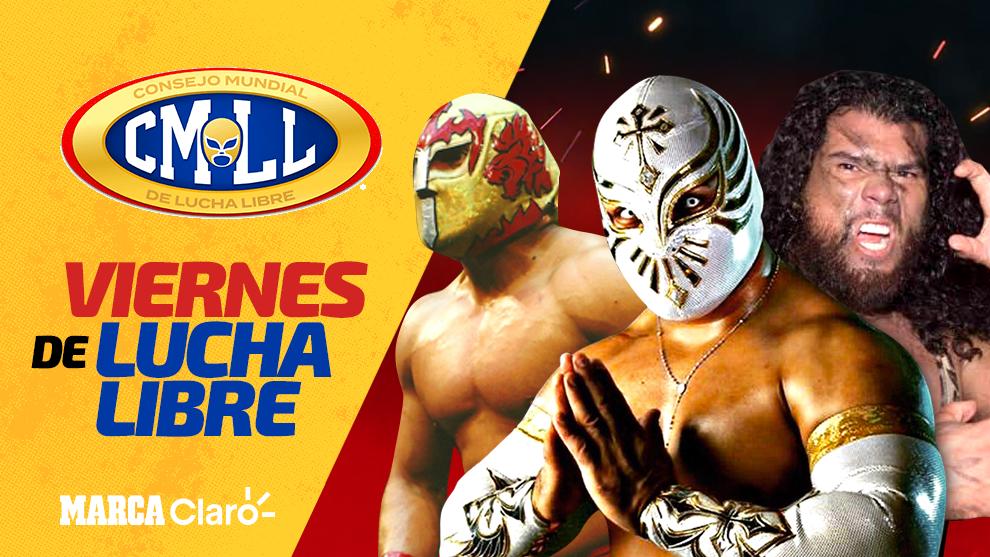 Lucha Libre - CMLL: 'Viernes espectacular' hoy en vivo ...