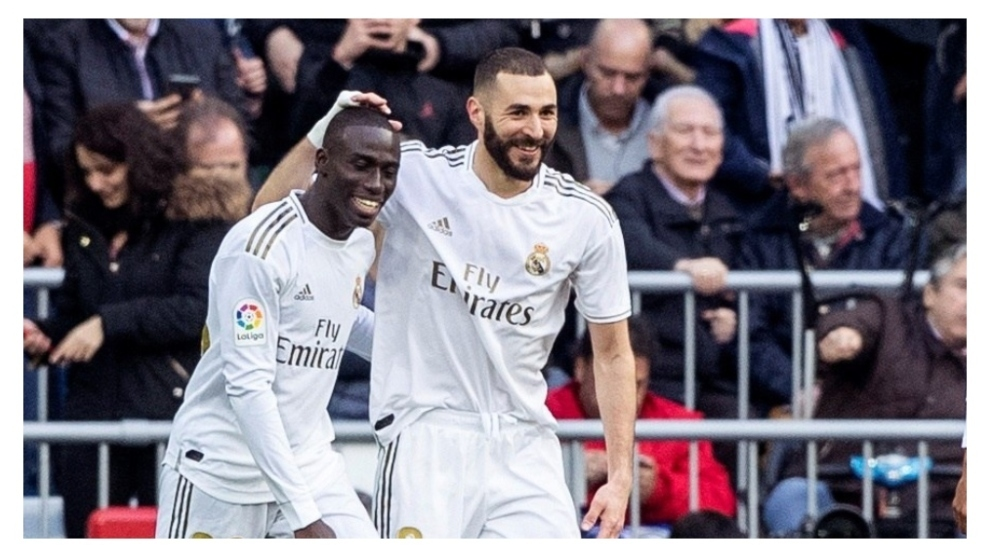Mendy and Benzema
