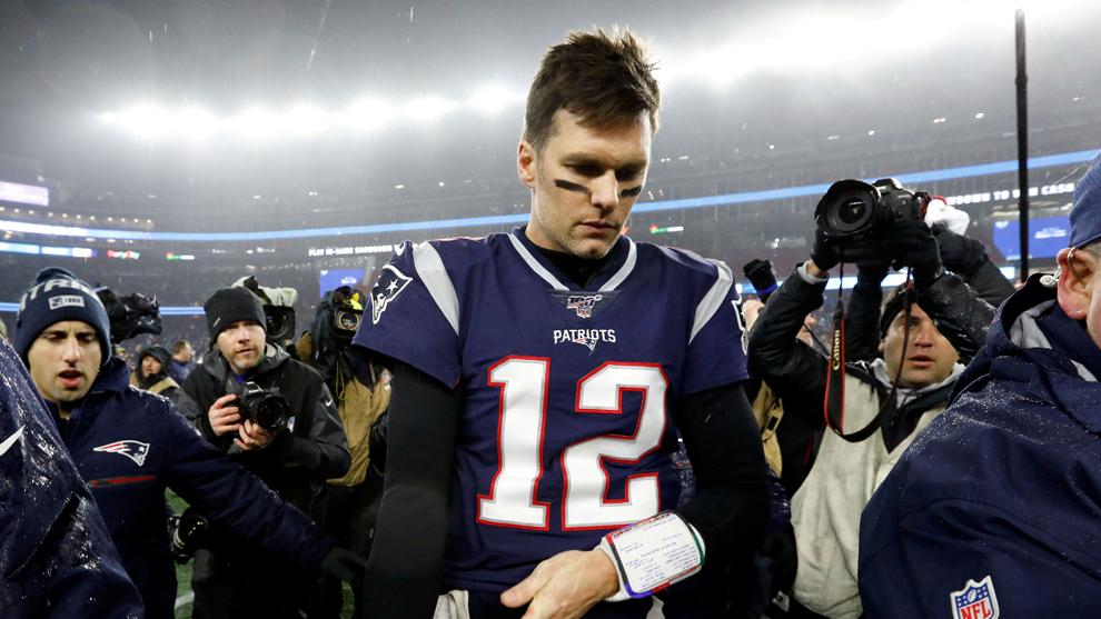 ¿Mensaje subliminal de Tom Brady?