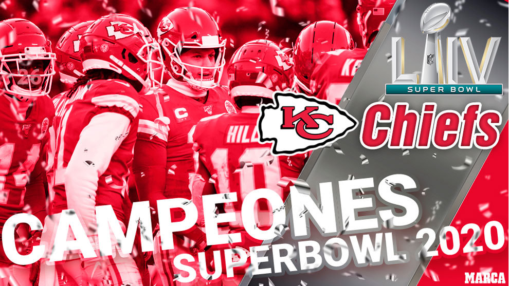 Kansas City Chiefs - campeones Super Bowl 2020