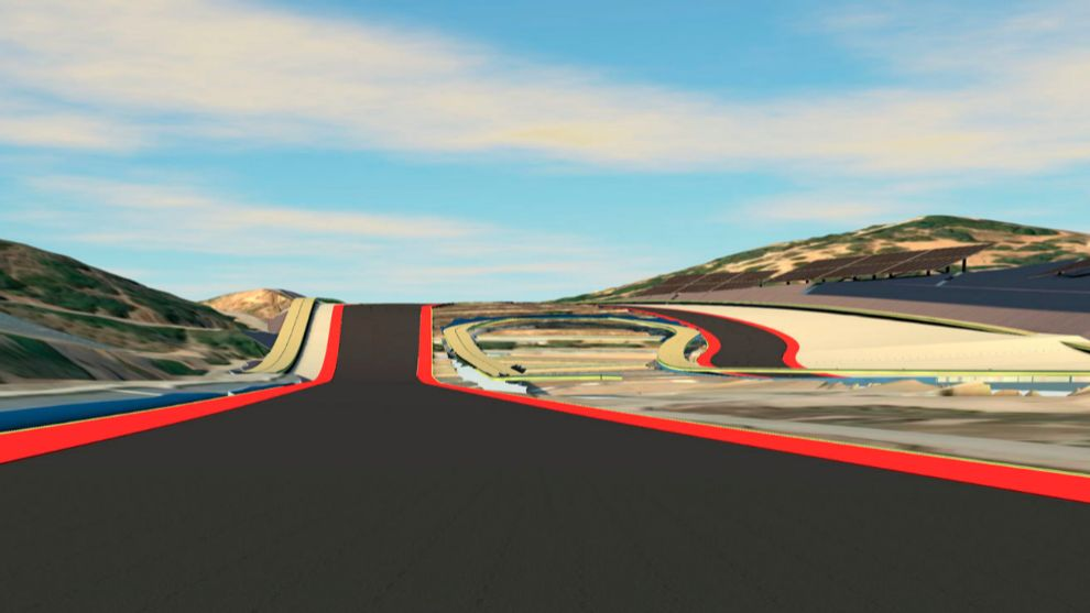Imagen de las reformas en el Circuito de Jerez.