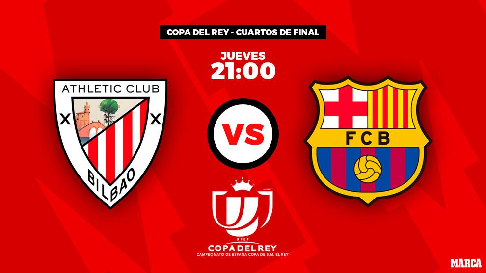 Athletic - Barcelona: horario y dónde ver por television el partido...